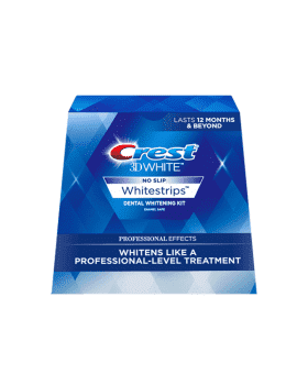 CREST 3D White Whitestrips, 4 Tones Professional Effects