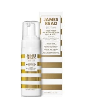 James Read Self Tan Fool Proof Bronzing Mousse Face & Body Dark купить в интернет магазине Americanbeauty.club