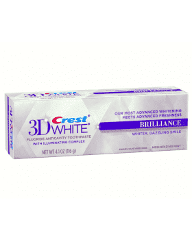CREST Toothpaste 3D White Brilliance на Americanbeauty.club